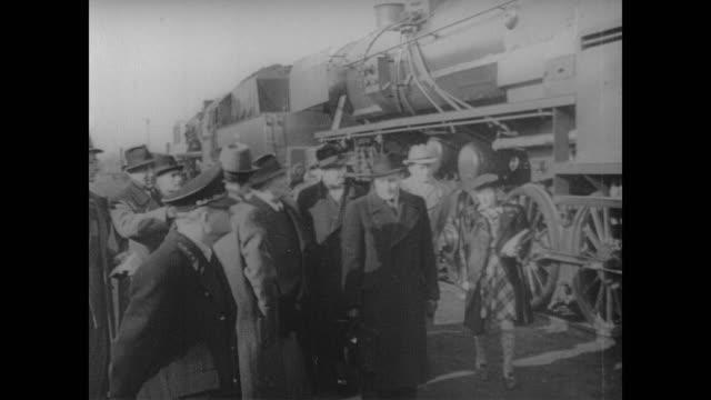 german trains built for croatia inspected on the tracks at zagreb - 旧ユーゴスラビア点の映像素材/bロール