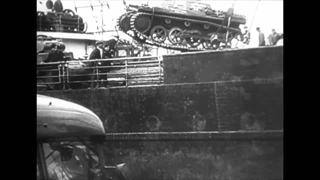 german warships, masked as merchant ships, in norwagian harbors just before the invasion - retail occupation stock videos & royalty-free footage
