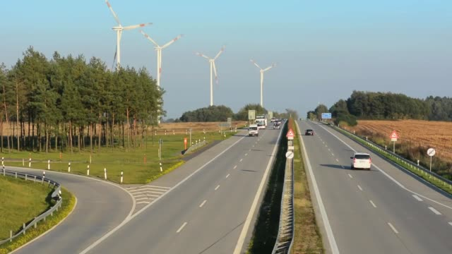 germany autobahn federal highway no speed limits between hamburg and berlin here e 24 - speed limit sign stock videos & royalty-free footage