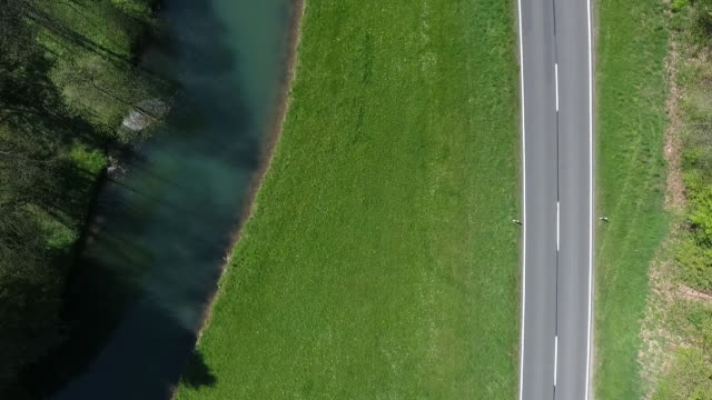 germany, bavaria, altmuehltal, altmuhl river, kayak, country road - empty road stock videos and b-roll footage