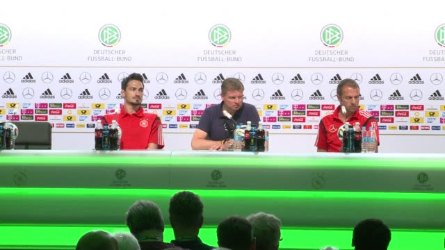 germany expect a tough match against opponents usa in their final group g clash on thursday but they wont settle for a draw - sportweltmeisterschaft stock-videos und b-roll-filmmaterial