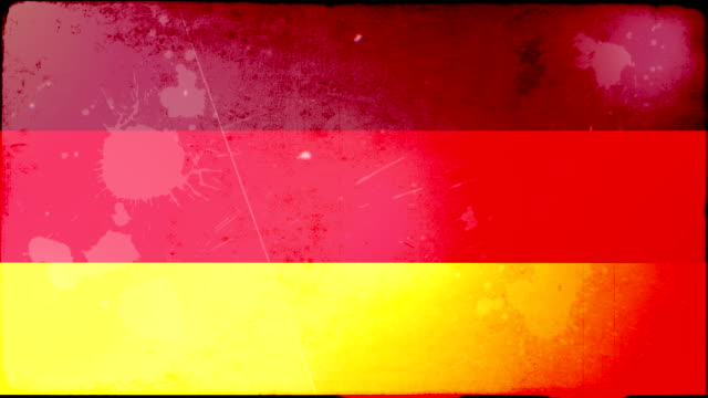 germany flag - grunge. hd - frayed stock videos & royalty-free footage