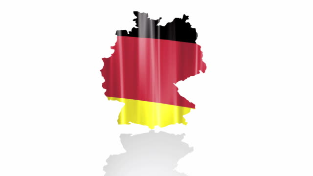 Germany flag isolated