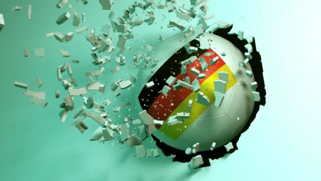 Germania Football Hit The Wall
