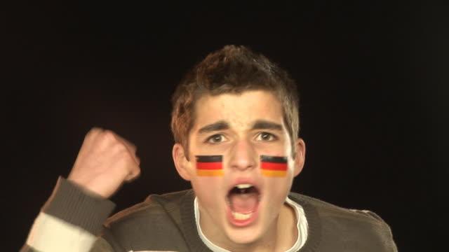 Germany football / soccer sports fan - HD & PAL