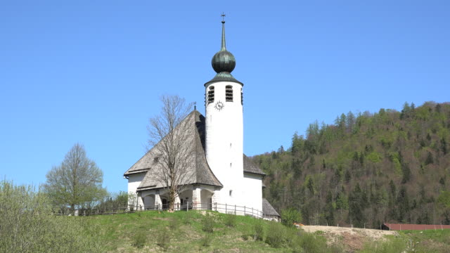 germany modernistic church - onion dome stock videos and b-roll footage