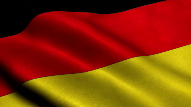 germany national flag - german flag stock videos & royalty-free footage