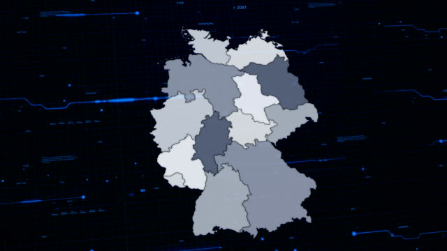 Germany network map