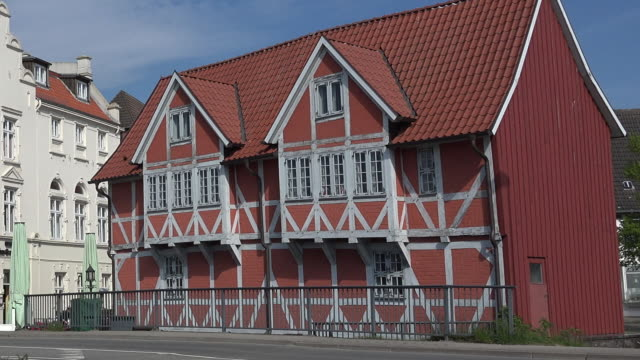 germany wismar gewölbe a wine quality control station - facade stock videos & royalty-free footage