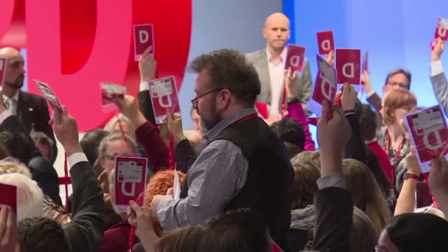 Germany's centre left Social Democrats voted Sunday to begin formal coalition talks with Chancellor Angela Merkel's conservatives bringing Europe's...