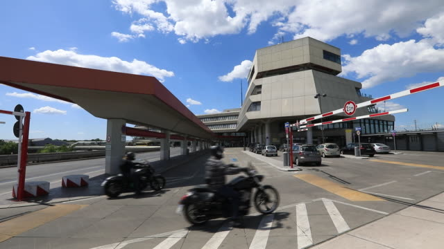 germany's cold warera tegel airport allowed to close in june in berlin germany on tuesday june 2 2020 - boom barrier stock videos & royalty-free footage