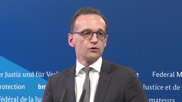 germany's designated next foreign minister heiko maas is a sharp dresser with a steely edge who has become the nemesis of far right and online giants... - furious stock videos & royalty-free footage