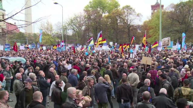 germanys populist party afd enjoyed a surge in support in weekend elections despite public outrage over its leaders comment that police may have to... - populism stock videos & royalty-free footage