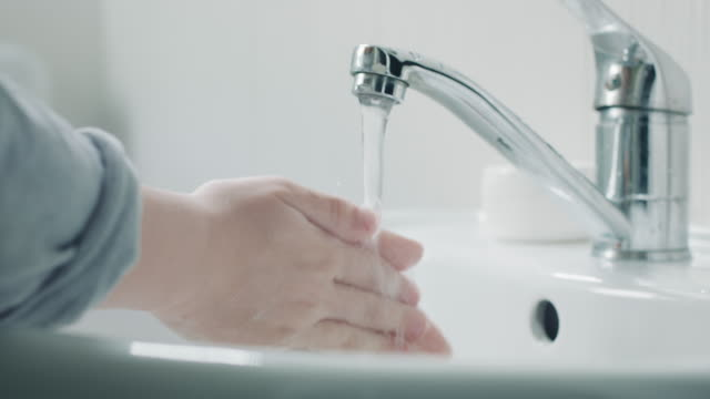 germs down the drain - sink stock videos & royalty-free footage