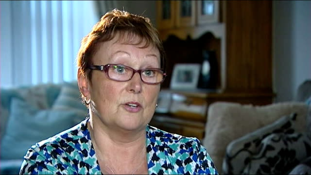 gerry adams held by police for third night over jean mcconville murder crossmaglen int anna mcshane interview sot know that half of his head was... - gerry adams stock videos and b-roll footage