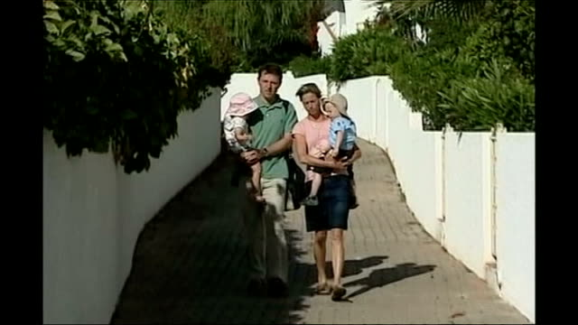 gerry and kate mccann towards carrying madeleine's siblings - kate mccann stock videos & royalty-free footage