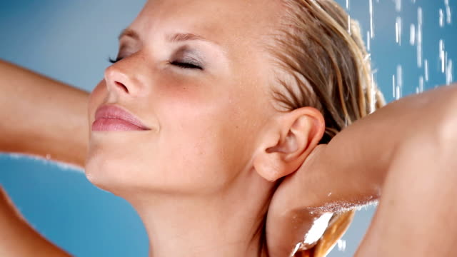 get close to fresh beauty care - shampoo stock videos & royalty-free footage