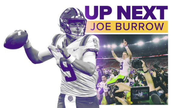get to know former lsu quarterback and the expected no. 1 overall pick in the 2020 nfl draft, joe burrow. - クオーターバック点の映像素材/bロール