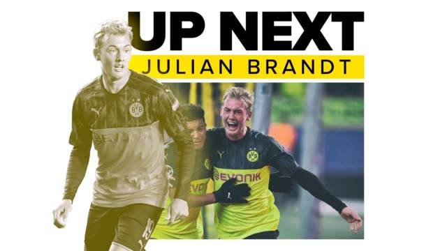 get to know julian brandt, a winger for borussia dortmund of the bundesliga and the germany national team, a young soccer player on the rise. - zweiter platz stock-videos und b-roll-filmmaterial