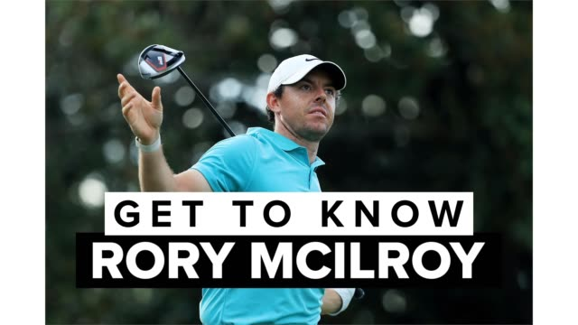 get to know one of the top golfers on the pga tour, rory mcilroy. the three-time pga tour player of the year, who calls northern ireland home, has... - nordirland bildbanksvideor och videomaterial från bakom kulisserna