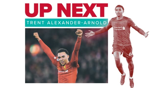 get to know trent alexanderarnold a rightback for liverpool fc and the england national team an upandcoming star in the english premier league... - wisdom stock videos & royalty-free footage