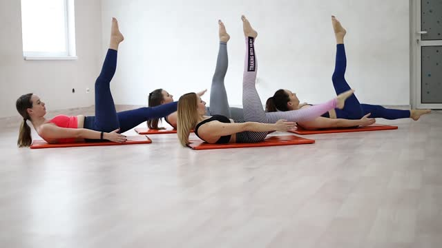 get your body in balance - pilates stock videos & royalty-free footage