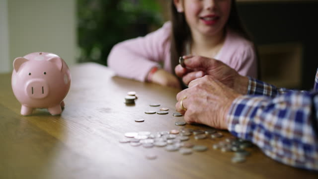 Getting an early start to her savings