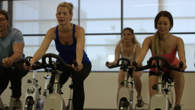 Getting Fit in Indoor Cycling Class