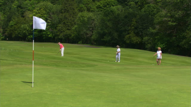 getting on the green - see other clips from this shoot 1271 stock videos & royalty-free footage