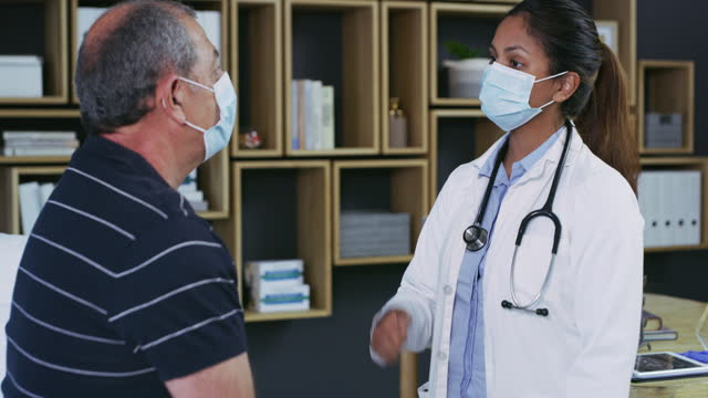 getting regular physicals is a vital part of good health - positive emotion stock videos & royalty-free footage