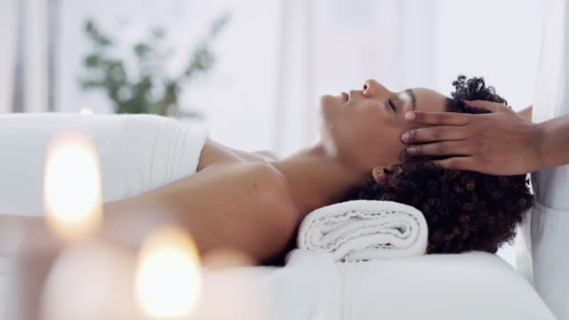 getting rubbed up the right way - aromatherapy stock videos & royalty-free footage