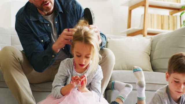 getting the gets ready with ease - daughter stock videos & royalty-free footage