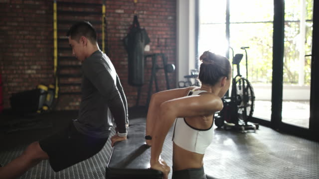 getting their fitness on - self discipline stock videos & royalty-free footage