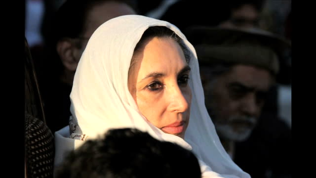 getty images photographer john moore witnessed the assassination of former pakistani prime minister benazir bhutto on december 27, 2007 in... - punjab pakistan stock videos & royalty-free footage