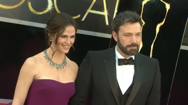 gettyimages celebrity news 02/25/13 on february 25 2013 in hollywood california - ben affleck stock videos & royalty-free footage