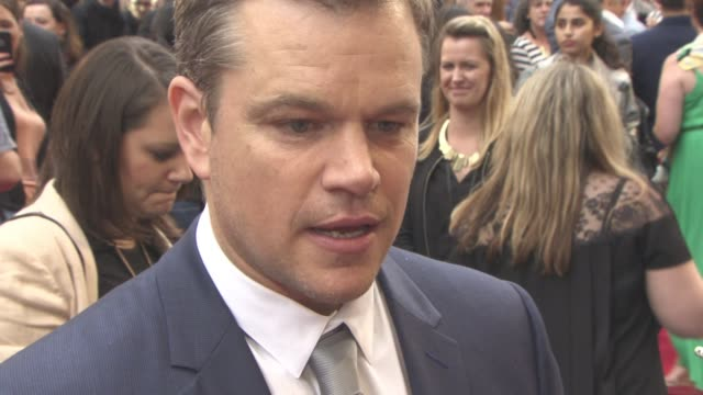 gettyimages celebrity news - matt damon stock videos and b-roll footage