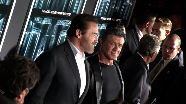gettyimages celebrity news 10/17/13 on october 17 2013 in hollywood california - arnold schwarzenegger stock-videos und b-roll-filmmaterial