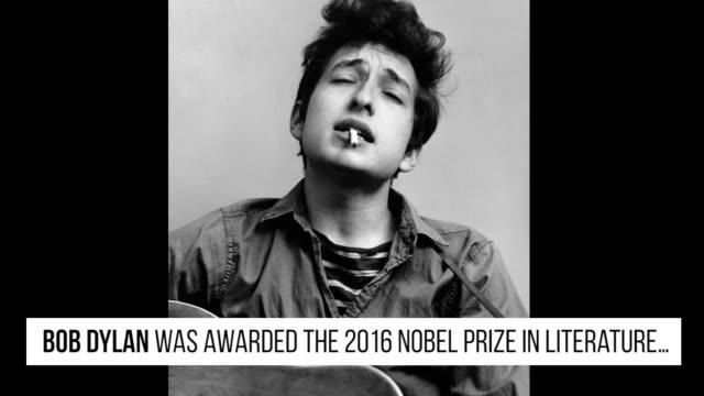 GettyImages Celebrity News Bob Dylan 10/13/16
