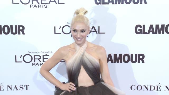 gettyimages celebrity news - womenoftheyear - - gwen stefani stock videos & royalty-free footage