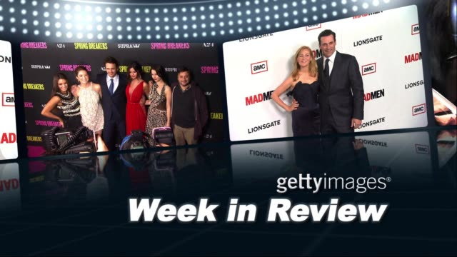 gettyimages week in review 03/21/13 on march 21 2013 in hollywood california - adrianne palicki stock videos and b-roll footage