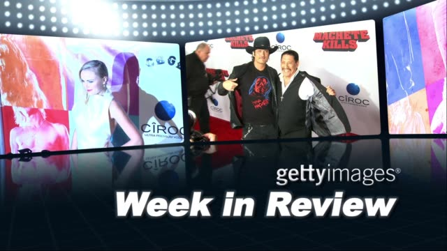 gettyimages week in review 10/03/13 on october 03, 2013 in hollywood, california - モービー点の映像素材/bロール