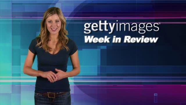 vídeos y material grabado en eventos de stock de gettyimages week in review 11/10/11 - actor