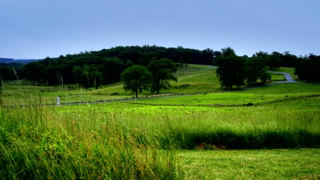 stockvideo's en b-roll-footage met gettysburg national battlefield - gettysburg