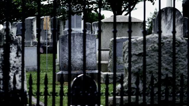 gettysburg national cemetery - civil war stock videos & royalty-free footage