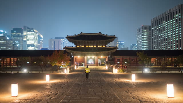 Geunjeongjeon Throne Hall (Korean National Treasure 223) in Gyeongbokgung (Royal palace of the Joseon dynasty)