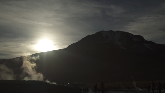 geyser - atacama desert - 1 minute or greater stock videos & royalty-free footage
