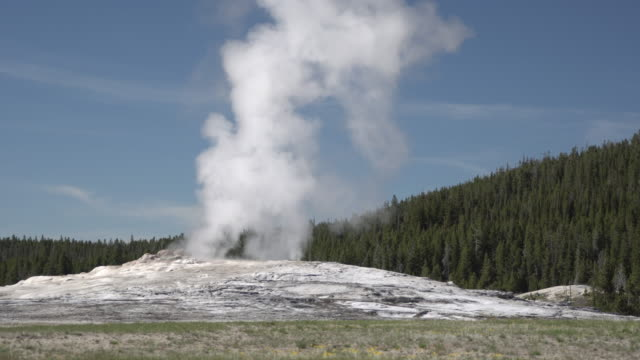 geyser erupting - old faithful stock videos & royalty-free footage