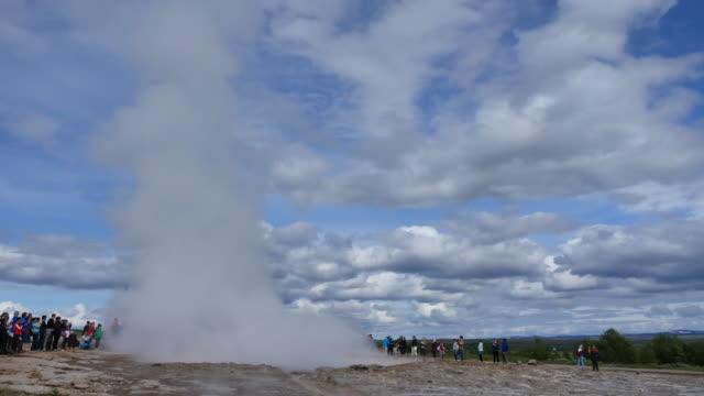 Geysir Vulkanausbruch 4 K