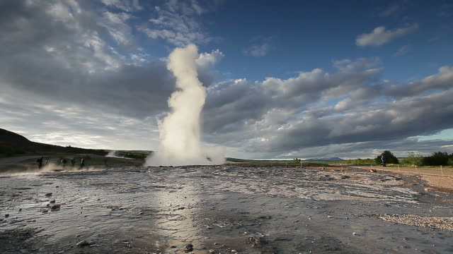 geyser - geyser stock videos and b-roll footage
