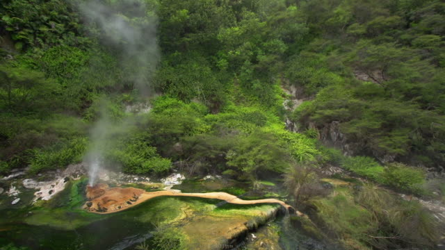 vidéos et rushes de ralenti: geyser - valley